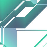 Angular geometric abstract Royalty Free Stock Images