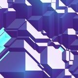 Angular geometric abstract Royalty Free Stock Photo