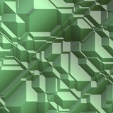 Angular geometric abstract Stock Image