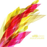 Angular geometric color shape Royalty Free Stock Photo
