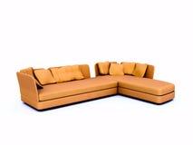 Angular sofa Stock Image