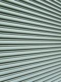 Angular view of garage door Stock Photos