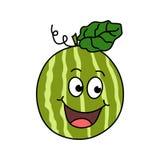Anguria del fumetto Illustrazione della frutta di vettore illustrazione vettoriale