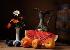 Anguria e frutta fresca Immagine Stock