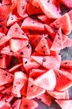 Anguria rossa Fotografia Stock