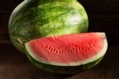 Anguria senza semi matura organica Fotografia Stock