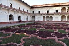 Anguribagh στο κόκκινο οχυρό Agra Στοκ φωτογραφίες με δικαίωμα ελεύθερης χρήσης