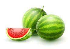 angurie Interi frutti dolci maturi freschi Immagini Stock Libere da Diritti