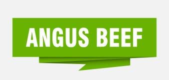 Angus Beef διανυσματική απεικόνιση