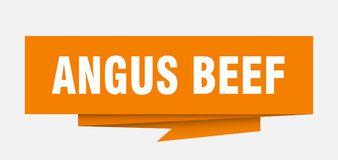 Angus Beef ελεύθερη απεικόνιση δικαιώματος