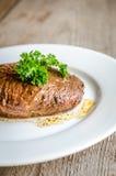 Angus Beef Steak royaltyfri fotografi