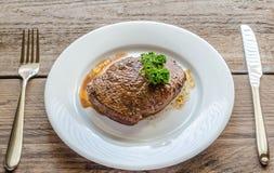 Angus Beef Steak Στοκ εικόνες με δικαίωμα ελεύθερης χρήσης