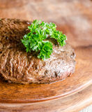 Angus Beef Steak Στοκ Εικόνες