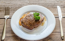 Angus Beef Steak Royalty Free Stock Images