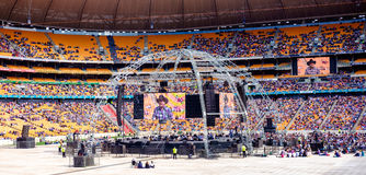 Angus Buchan - Sacred Assembly 2016 at FNB Stadium Stock Image
