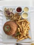 Angus Burger fotografia stock