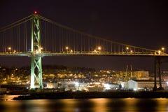 Angus L. MacDonald Bridge, Halifax Stock Photo