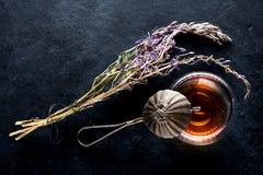 Angustifolium Chamerion χορταριών και βοτανικό τσάι Στοκ Εικόνες
