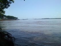 Angustura de l'Orénoque BolÃvar Venezuela de rivière photo libre de droits