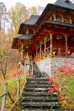 Anhänge von Heilig-Anna--Rohiakloster, aufgestellt in einem natürlichen und lokalisierten Platz Lizenzfreies Stockbild
