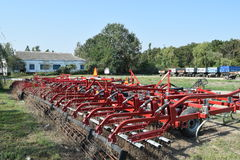 Anhängerkupplung für Traktoren und Mähdrescher Stockfotos