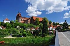 anhalt μοναστήρι Σαξωνία της Γερμανίας havelberg Στοκ εικόνες με δικαίωμα ελεύθερης χρήσης