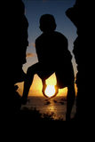 Anhalten des Sun Lizenzfreies Stockfoto