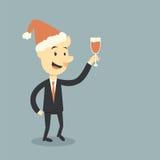 Anhalten des Weins Stockbild