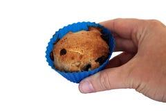 Anhalten eines Muffins Lizenzfreie Stockfotografie
