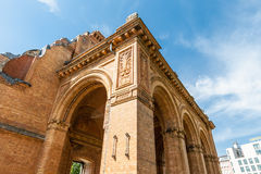 The Anhalter Bahnhof is a former railway terminus in Berlin, Ger Stock Photography