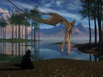 Anhanguera - Dinosaurier 3D stock abbildung