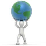 Anheben der Welt vektor abbildung