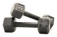 Anhebende Gewichte Stockbild