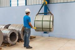 Anhebender Stahlring Lizenzfreies Stockbild