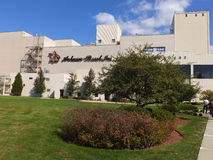Anheuser-Busch brewery in Merrimack, New Hampshire. Is their easternmost, and one of their smallest plants in the United States. It is home to a brewery tour Stock Photo