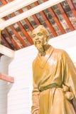 ANHUI, ΚΊΝΑ - 19 Νοεμβρίου 2015: Άγαλμα της Hua Tuo στο ναό Huazu ένα FA Στοκ Φωτογραφία