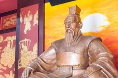 ANHUI, ΚΊΝΑ - 18 Νοεμβρίου 2015: Ναός Weiwu μια διάσημη ιστορική περιοχή Στοκ Φωτογραφίες