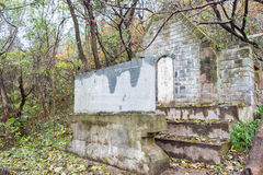 ANHUI CHINY, Nov, - 23 2015: Li Diana grobowiec sławny Historyczny miejsce Zdjęcia Stock
