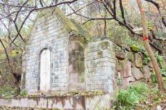 ANHUI CHINY, Nov, - 23 2015: Li Diana grobowiec sławny Historyczny miejsce Obraz Stock