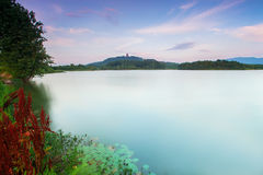 Anhui lake scenery Stock Images