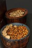 Anhui Yi Xian Hongcun το όνομα του πρόχειρου φαγητού - μικρό τριζάτο κέικ Στοκ φωτογραφία με δικαίωμα ελεύθερης χρήσης