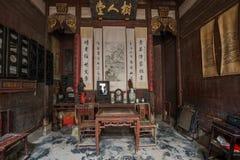 Anhui Yi Xian Hongcun Chengzhi Church Arkivbild