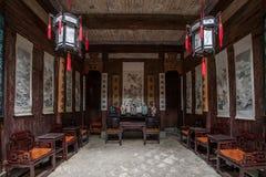 Anhui Yi Xian Hongcun Chengzhi Church Royaltyfri Bild