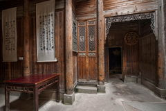 Anhui Yi Xian Hongcun Chengzhi Church Arkivfoto