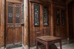 Anhui Yi Xian Hongcun Chengzhi Church Royaltyfria Bilder