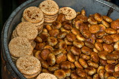 Anhui Yi Xian Hongcun the name of the snack - small crispy cake Royalty Free Stock Photography