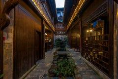 Anhui Yixian Hongcun το πανδοχείο Στοκ Φωτογραφία