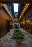 Anhui Yixian Hongcun το πανδοχείο Στοκ Εικόνες