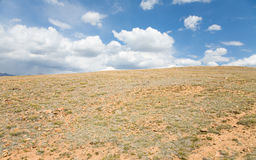 Anhydrous stone steppe Royalty Free Stock Images