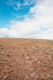 Anhydrous stone steppe Stock Image